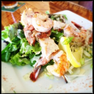 Chilled and Grilled Shrimp and Scallops: Waterfront