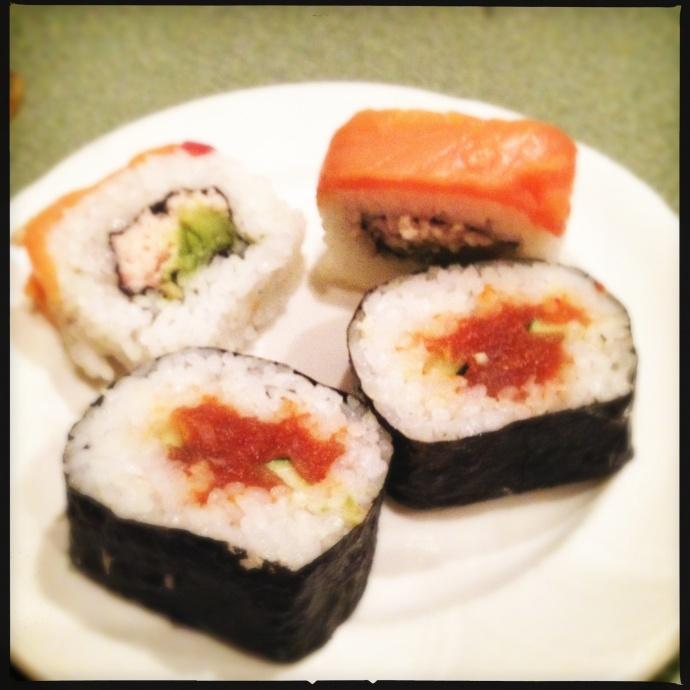 Kahili restaurant sushi. Photo by Vanessa Wolf