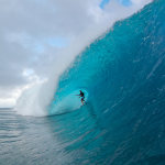 Laird Hamilton and Teahupoo. A match made in surfing heaven. Photo:David Tuarau