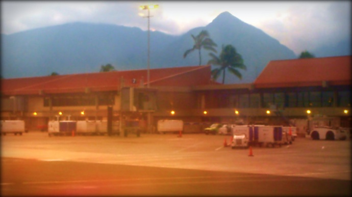 Kahului Airport. Photo by Wendy Osher.