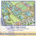 Kihei High School EIS.  Courtesy image.