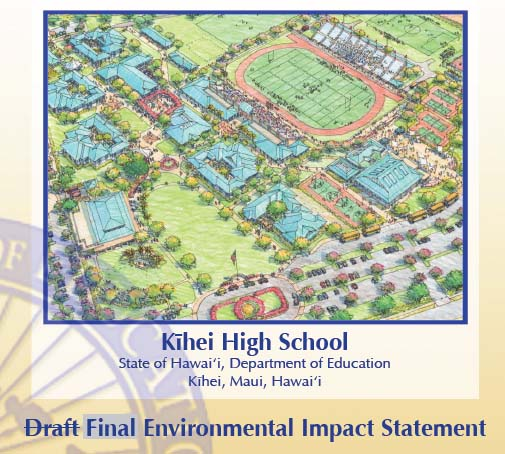 Kihei High School EIS. Courtesy image.