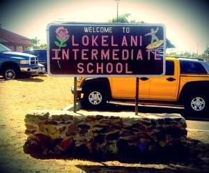 Lokelani Intermediate School.