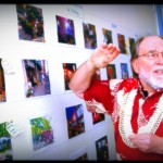 Gov. Neil Abercrombie views suggested concepts for Wailuku town's re-design during a REWailuku workshop in February.  File photo by Wendy Osher.