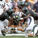 Hawaii's defense is an area that needs improvement. Photo by UH Athletics.