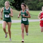 Hawaii's Tiare Nakashima (693) finished second for UH and 24th overall in 20 minutes, 46 seconds. Photo by UH Athletics.
