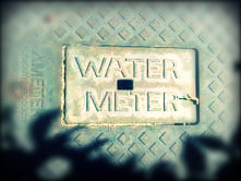 Water meter, photo by Wendy Osher.