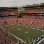 Aloha Stadium, site of the 2013 NFL Pro Bowl. Photo courtesy of Hawaii News Now.