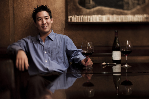 Master Sommelier Patrick Okubo, whom we suspect can also diagnose your elusive health issues and give you a great haircut while he's at it. Courtesy photo