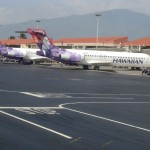 Hawaiian Airlines at Kahului Airport. Photo by Wendy Osher.