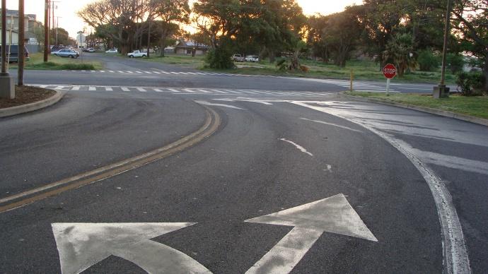 Vevau/Kane Street intersection. File photo by Wendy Osher.