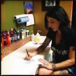 Tattoo artist Rachel Helmich. Photo by Vanessa Wolf