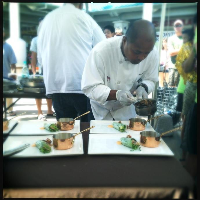 Maui now allez cuisine judging battle adobo for Allez cuisine iron chef
