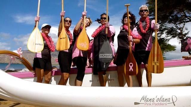 Mana'olana Pink Paddlers, courtesy photo.