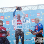 Champagne Shower for the Champ. Photo: ASP