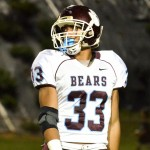 Baldwin's Abraham Reinhardt scored two second-quarter touchdowns on kick returns Friday to help the Bears beat Kamehameha Maui, 42-20. File photo by Rodney S. Yap.