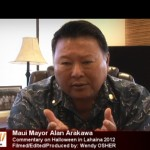 Maui Mayor Alan Arakawa.  Photo by Wendy Osher.