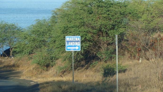 Makena Landing, file photo by Wendy Osher.