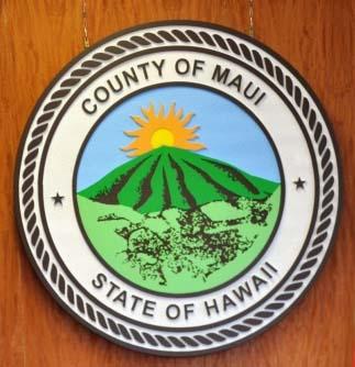 Maui county logo. File image.
