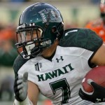 UH running back Joey Iosefa will help the Warriors Saturday at Fresno State. Photo by UH Athletics.