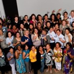 Women of Maui Stand Down group shot from August event. Photo courtesy of Women of Maui Stand Down.