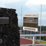 Kamehameha Schools Maui football stadium. Photo by Rodney S. Yap.