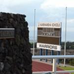 Kamehameha Schools Maui football stadium. Photo by Rodney S. Yap.
