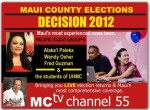 Countdown to 2012 Maui General Election