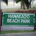 Hanakaoo sign, photo by Wendy Osher.