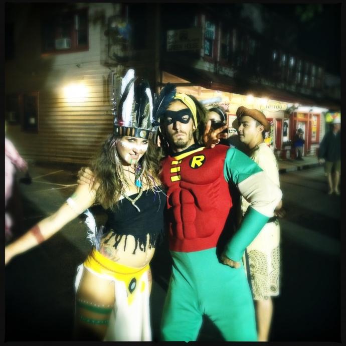 Halloween in Lahaina. File photo by Vanessa Wolf.