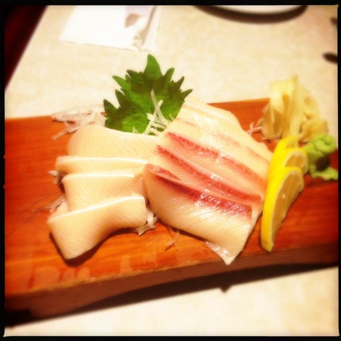 Isana restaurant disappoints maui now for Hamachi fish price
