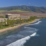 The current Hyatt Regency at Ka'anapali. The Residence Club will reportedly be situated nearby. Lahaina town is to the far left of this image. Courtesy photo.