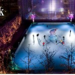"The synthetic ""Polar Rink"" in New York City. Photo courtesy Things To See NYC."