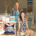 Wendy Takenoto (left)  and Jessica Guard McLellan (right) open HUE, a new design studio and home boutique, in Kahului. Photo by Kristy Copperfield.