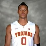 USC senior Renaldo Woolridge is a transfer from Tennessee, who played here last season, and is the first non Chaminade player to make consecutive appearances at the Maui Invitational tournament. Photo by USC Athletics.