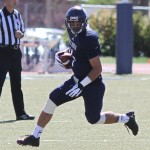 Former Baldwin High School standout Colten Quinabo caught a team high 47 passes for 587 yards in 2012. Photo by Concordia Athletics.