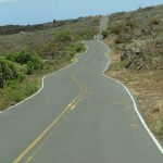 There will be temporary lane closures along Upcountry Pi`ilani Highway between Papaka Road and the Auwahi Wind project site on Ulupalakua Ranch starting on December 10.  File photo by Wendy Osher.