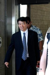 Lieutenant Governor Shan Tsutsui, Maui homecoming. Courtesy photo Leighton Hiranaga