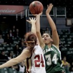 Molokai's Kalei Adolpho officially returns to the Hawaii women's basketball team this weekend. File photo UH Athletics.