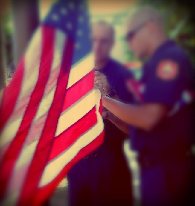 Flags Lowered in Honor of Fallen HPD Officers
