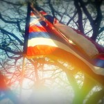 Hawaii flag. Photo by Wendy Osher.