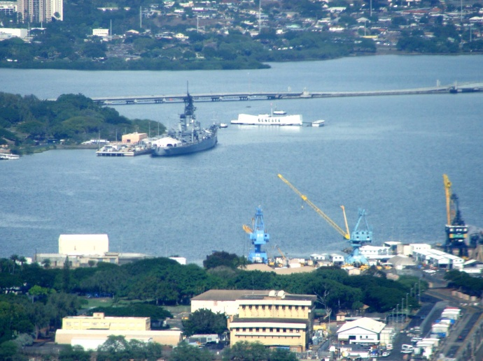 Pearl Harbor file photo by Wendy Osher.