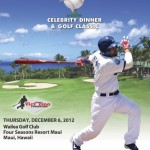 Victorino Hosts Annual Celebrity Golf Tournament