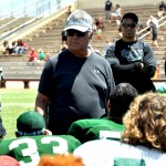 University of Hawaii offensive coordinator Tommy Lee announced his retirement from coaching effective immediately. File photo by Rodney S. Yap.