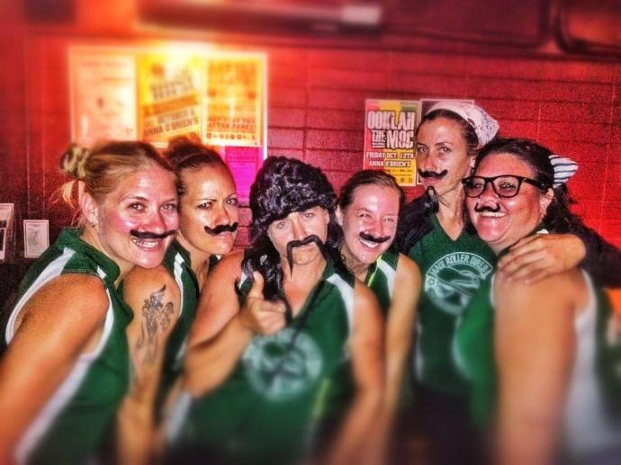 The Maui Roller Girls. Courtesy photo