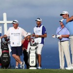 Dustin Johnson claimed the 2013 season-opening Hyundai Tournament of Champions on in Kapalua on Tuesday. Photo by Getty Images.