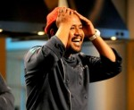 "Chef Simeon learns he's won ""Restaurant Wars"" for his efforts. Photo courtesy Bravo TV."