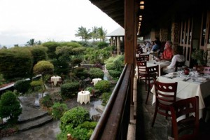 Dining on the lanai at Capische in the Hotel Wailea voted very romantic. Courtesy photo.