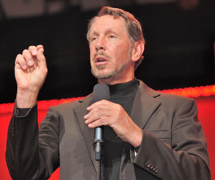 Larry Ellison. Photo courtesy of Oracle Corporation.