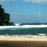 Looks big and cold. Ho'okipa Beach Park 1/24. Photo:Carlos Rock